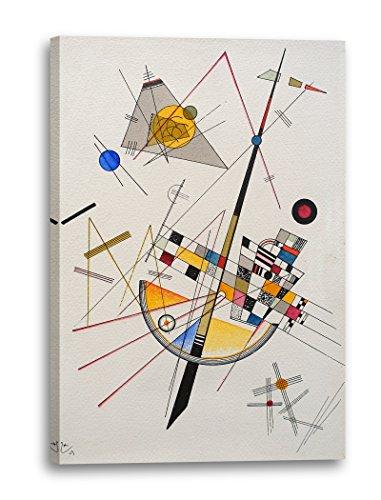 74acf158e72 Printed Paintings Impresión Sobre Lienzo (60x80cm): Wassily Kandinsky -  Tensión Delicada