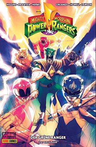 Mighty Morphin Power Rangers: Bd. 1: Der grüne Ranger - Das erste Jahr (Power Ranger Comic)
