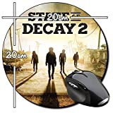 State Of Decay 2 B Tappetino Per Mouse Tondo Round Mousepad PC