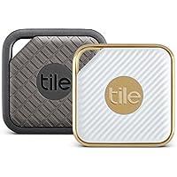 Tile Combo Pack - Tile Sport und Tile Style Combo Pack. Schlüsselfinder. Telefonfinder. Allesfinder - 2er-Pack