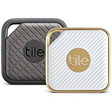 Tile Combo Pack - Tile Sport and Tile Style combo pack. Key Finder. Phone Finder. Anything Finder - 2-pack-Mixed