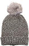 Pieces Pcjamilla Hood, Bonnet Femme, Gris (Medium Grey Melange), Taille Unique