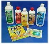 Hesi - Kit per principianti, fertilizzanti, terra e fiori, fosforo, SuperVit, TNT, radici, Power Zyme