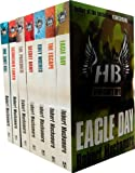 Robert Muchamore Hendersons Boys 7 Books Collection Set RRP: £48.93 (One Shot Kill, Scorched Earth, The Prisoner, Secret Army, Grey Wolves, The Escape, Eagle Day)