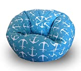 #7: Aart Ankar Pattern Digitally Printed Canvas Bean Bags Without Beans (XXL)