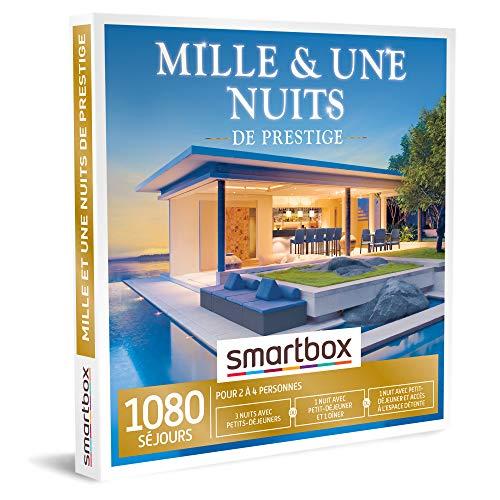 SMARTBOX - Mille et une nuits de prestige - Coffret Cadeau Séjour Gourmand - 3 nuits...