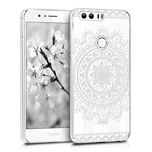 kwmobile Huawei Honor 8 / Honor 8 Premium Hülle - Handyhülle für Huawei Honor 8 / Honor 8 Premium - Handy Case in Weiß Transparent