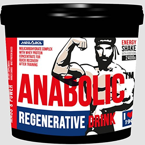 2400g / 2,4kg ANABOLICTM REGENERATIVE DRINK - Muskelaufbau Whey Protein Mass Gainer - Eiweißshaker Geschmack: Cookies