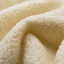 Piel de cordero Thermo Plus - con lana virgin, hermosa densa - vendido por metro
