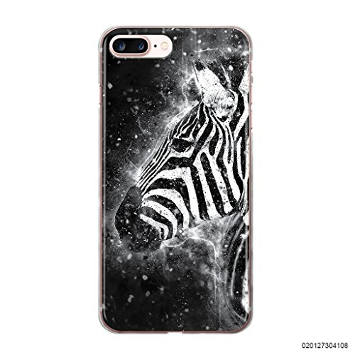 blitzversand Handyhülle Rock You kompatibel für iPhone 4 Magic Zebra Schutz Hülle Case Bumper transparent M4 - Iphone 4-zebra