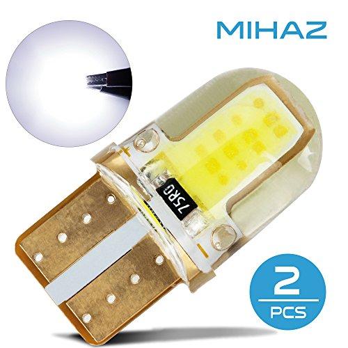 Mihaz 2PCS 8SMD COB ha condotto le lampadine SMD lampadine a risparmio energetico con Super luminoso bianco caldo ha portato lampade lampada alogena 360 ° Angolo a