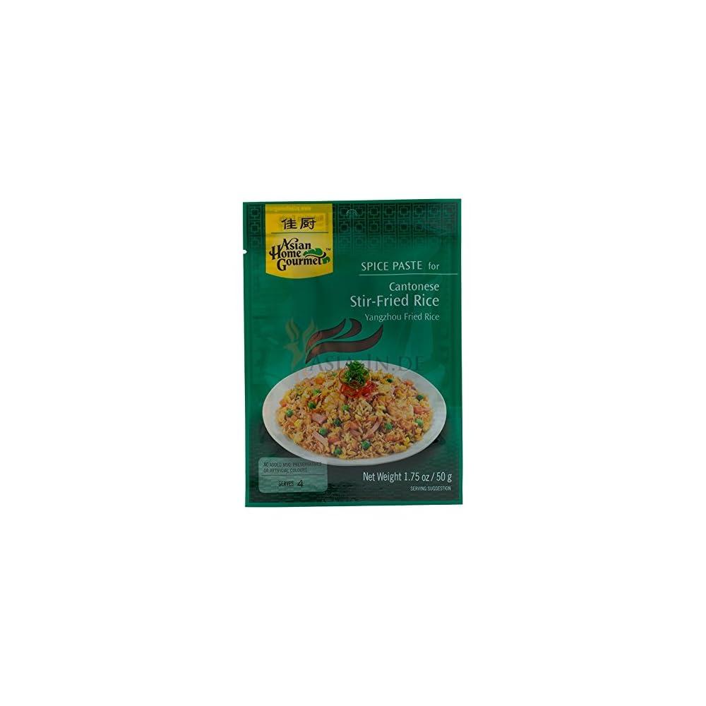 Asian Home Gourmet Wrzpaste Fr Gebackenen Reis Nach Kantonesicher Art50g