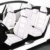 Zacasi - 3er e46 - Sitzbezüge in Lederoptik Passgenau Nach OEM-Design; Komplettset Sattlerbezüge von Seat-Styler aus Lederimitat