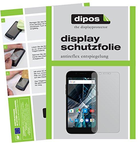 dipos I 6X Schutzfolie matt passend für Archos 55 Graphite Folie Bildschirmschutzfolie