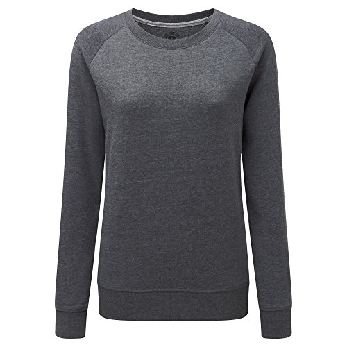 Russell HD - Sweat - Femme Argent marne