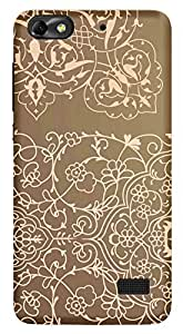 WOW Printed Designer Mobile Case Back Cover For Huawei Honor 4C