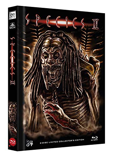 Species 2 (+ DVD) 2-Disc Limited Collectors Edition Mediabook (Cover A) - limitiert auf 222 Stk. [Blu-ray]