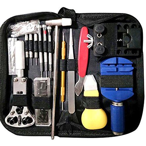 hrwerk Reparatursatz Werkzeugkoffer mit Gehäuse Best Mechanical Set Qualitätsset Praktische Kombination aus Multifunktionsuhr Kit ()