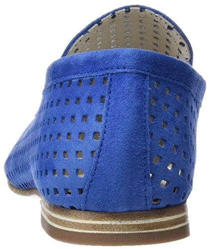 S9473, Mocassins (Loafer) Femme, Bleu (Velour Perf Denim), 36 EULottusse