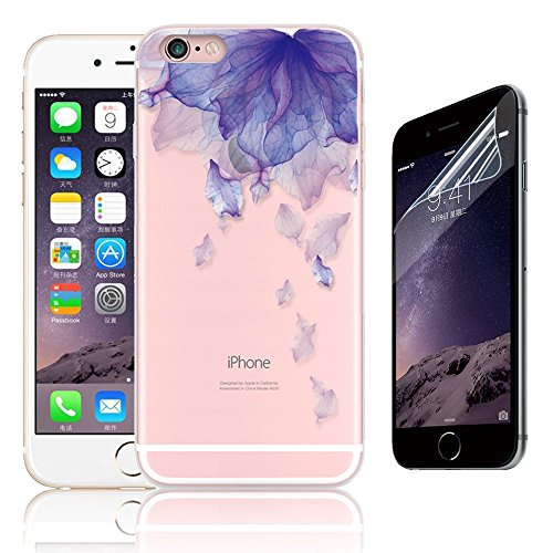 funda-iphone-6-plus-55-sunroyal-r-flexible-bumper-tpu-ultra-transparente-carcasa-funda-suave-paracho
