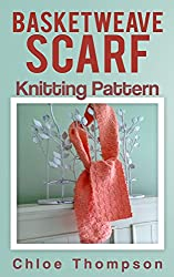 Basketweave Scarf: Knitting Pattern (English Edition)