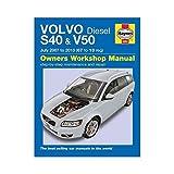 Volvo S40 & V50 Diesel Owner's Workshop Manual: 2007-2013 (Haynes Owners Workshop Manuals) by Chris Randall (2013-12-23)