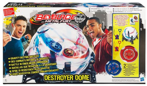 Hasbro 37087186 - Beyblade Metal Fury Destroyer Dome (Fury Von Beyblades Hasbro Metal)