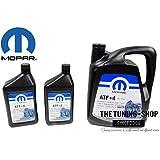 Mopar ATF+4 Liquide de transmission automatique 5l + 2x 0,946l pour Chrysler Dodge