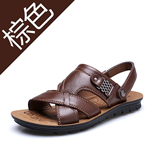 a733c00467783 Xing Lin Summer Beach Wear Flip Flops Leather Sneakers _ Men'S First ...