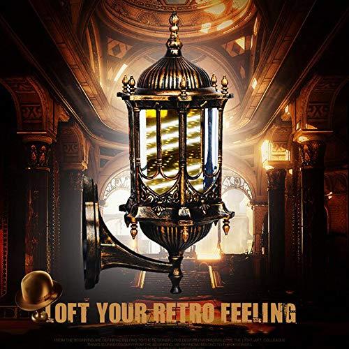 LED Poste de Barbero Firmar Pared Montado Lámpara 50CM Blanco Luminoso Giratorio Esclarecedor Luminosa para Peluquería Rayas Impermeable Ligero Cabello Salón Tienda,Impermeable al Aire Libre,B