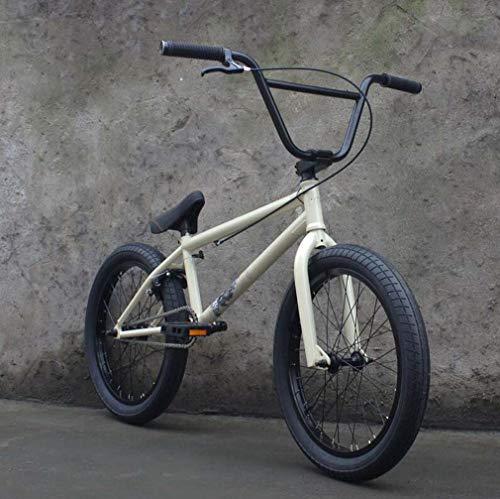SWORDlimit 20-Zoll BMX-Freestyle für Anfänger bis Fortgeschrittene, 4130 Chrom-Molybdän-Stahlrahmen, 25x9T BMX-Getriebe, 8,75 Zoll Lenker und U-förmiges Bremsendesign