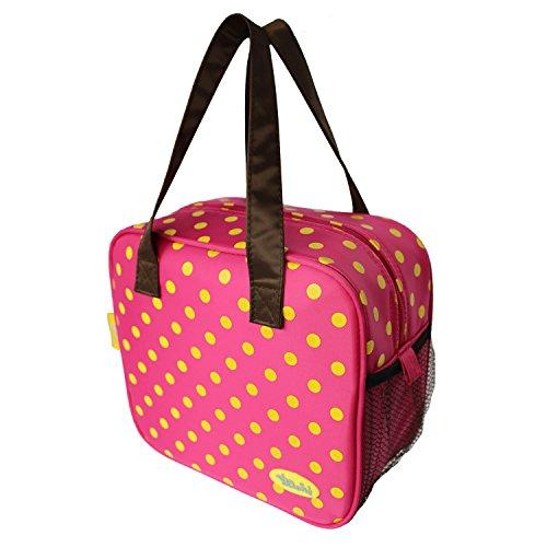 Coosin K¨¹hltasche LunchTasche Isoliertasche Picknicktaschen Wasserdichte Mittagessen Tasche f¨¹r Kinder und Erwachsene Taschen - Tasche Mittagessen Braun