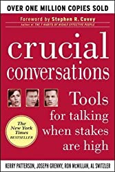 (Crucial Conversations: Tools for Talking When Stakes Are High) By Patterson, Kerry (Author) Paperback on 18-Jun-2002