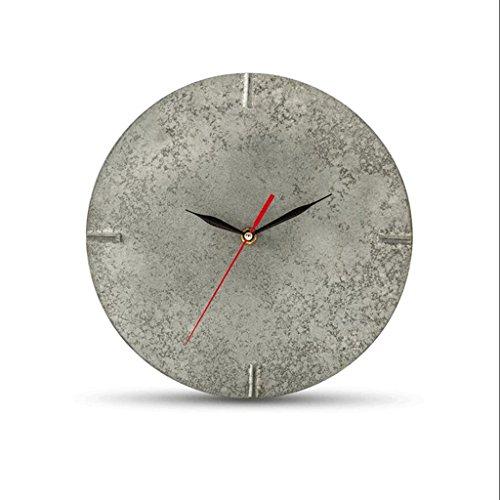 GAOLILI Orologio da parete creativo dell'orologio dell'orologio dell'orologio dell'orologio di imitazione del cemento