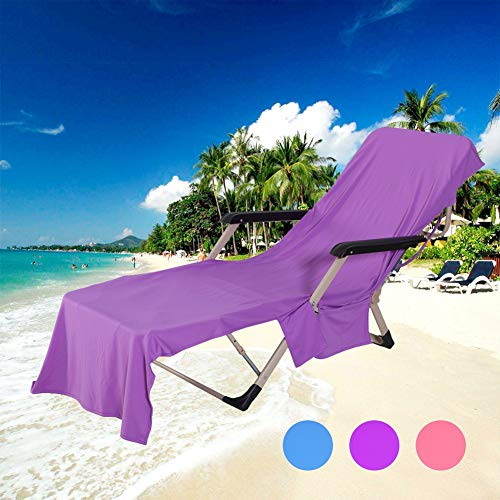 Yamer Pure Plant Cooling Fabric Strandkorb-Abdeckungs-Tuch,Microfaser Sports Cooling Beach Towel