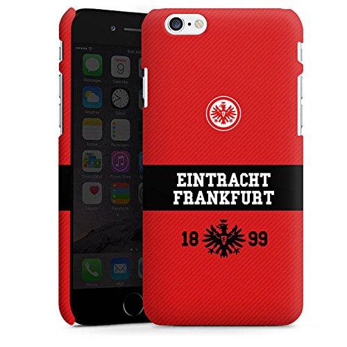 Apple iPhone X Silikon Hülle Case Schutzhülle Eintracht Frankfurt Fanartikel Adler Premium Case matt
