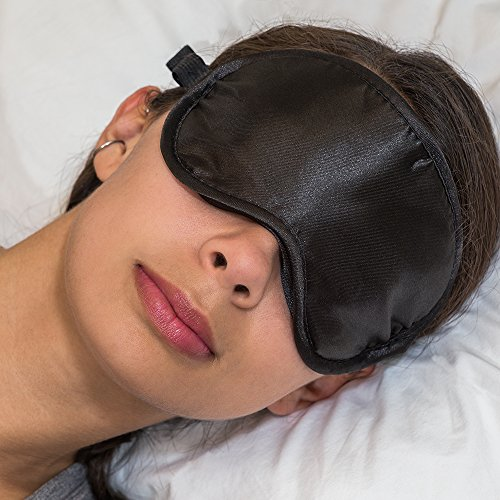 Sleep Mask/Eye Mask With FREE Ear Plugs + Carry Case Designed For Men, Women & Young Children -- Luxury Silk-Like Front and Velvet Textured Sleeping Mask for Blissful Sleep. This Sleep Mask, Designed By Sleep Experts 40Winks, is Perfect for Long Haul Travel and Home Use. Our Top Tier Sleep Masks is a Bestseller on Amazon! -- The Silk & Velvet Eye Mask/Sleep Masks -- ***Complete Money Back Guarantee for 60 Days***
