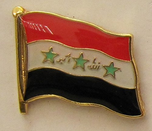 Irak Pin Anstecker Flagge Flaggenpin Fahne Fahnenpin Button Clip