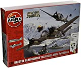 Airfix 1:72 Scale Bristol Beaufighter Mk.X Focke-Wulf Fw190 - 8 Dogfight Doubles Gift Set Model Kit