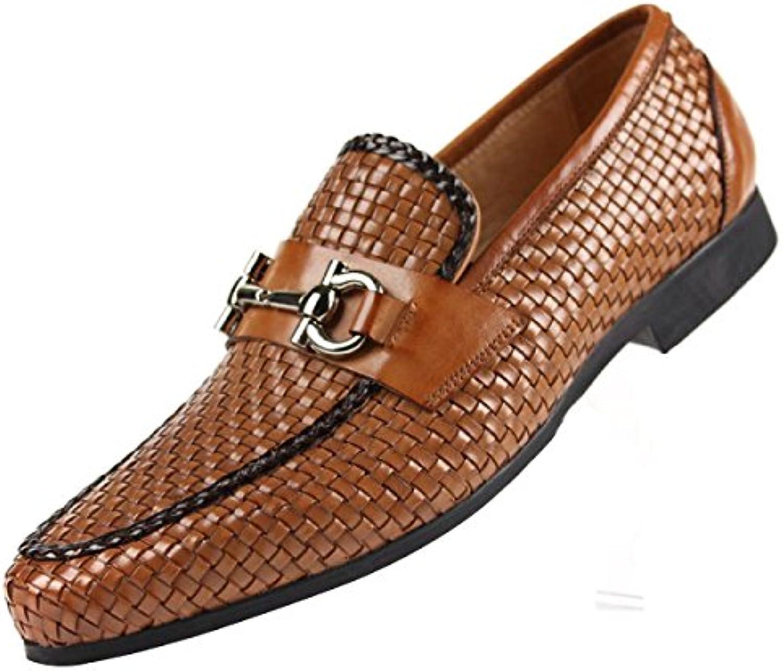 Männer Geschäft Freizeit Leder Handgefertigt Schuhe  Billig und erschwinglich Im Verkauf