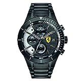 Scuderia Ferrari Orologi Herren-Armbanduhr Red Rev Evo Analog Quarz Edelstahl beschichtet 0830267