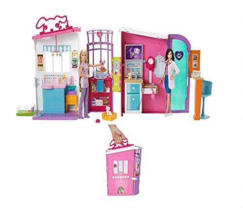 Jugatoys CLÍNICA DE Mascotas DE Barbie (MUÑECA NO INCLUIDA)