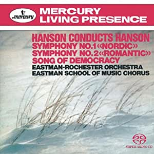 Hanson: Symphonies Nos.1 & 2