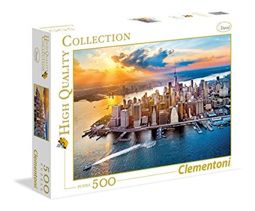 Clementoni - Puzzle 500 Parts New York (35038)
