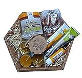 Geschenkkorb von der Familienimkerei Hermann - Honig von bayerischen Wiesen direkt vom regionalen Imker | Die ideale Geschenkidee für alle Honigliebhaber