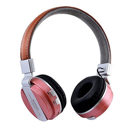 Kabelloser On-Ear Bluetooth Kopfhöre mit Mikrofon, OXOQO Stereo Over Ear Headset für iPhone, Notebook, iPad, Desktop-PC, PSP, MP3 - Mp3 Psp