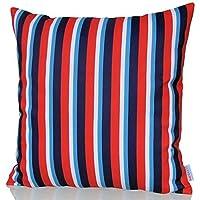 Sunburst Outdoor Living 45cm x 45cm EXCEL Federa decorativa per cuscini per divano, letto, sofà o da esterni - Solo federa, no interno
