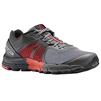 Reebok Men's Reebok One Guide 3.0 Red, Grey, Alloy and Coal Running Shoes - 9 UK/India (43 EU)(10 US)