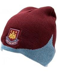 0fc3b3620b1fe West Ham United FC Official Product Knit Hat Club Crest Embroidery New  Season 13 14 WN