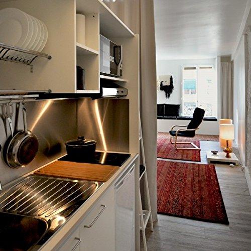 Night&Day Küche Schrank 216 cm mit Rollladen